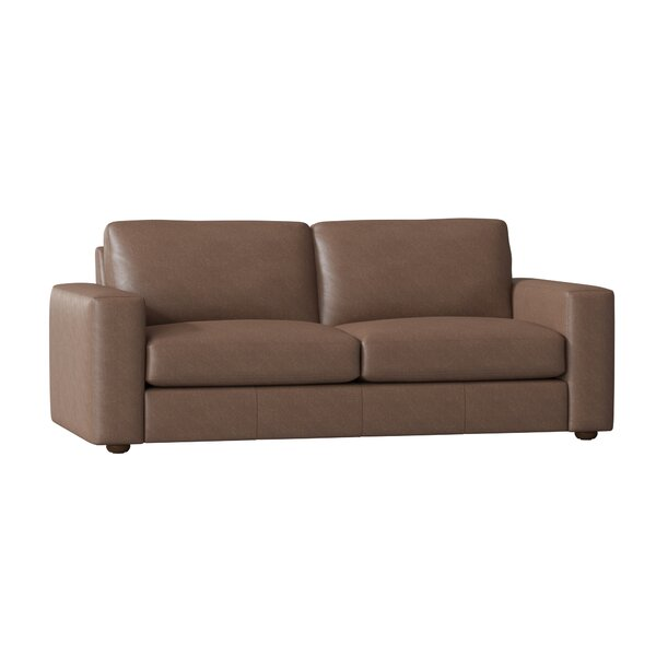 Lotte Leather Sofa By Birch Lane™ Heritage