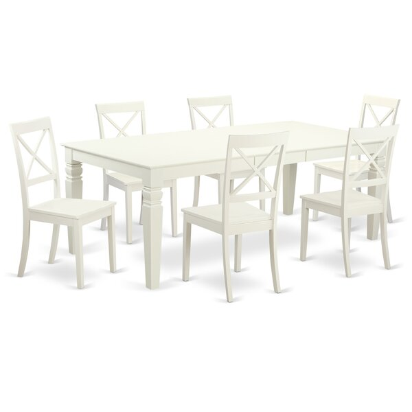 Beilby 7 Piece Dining Set by Darby Home Co Darby Home Co