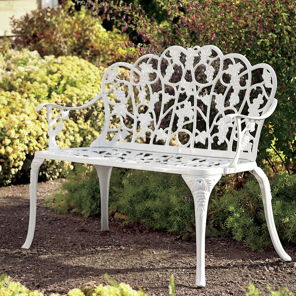 Grape Aluminum Garden Bench by Plow & Hearth