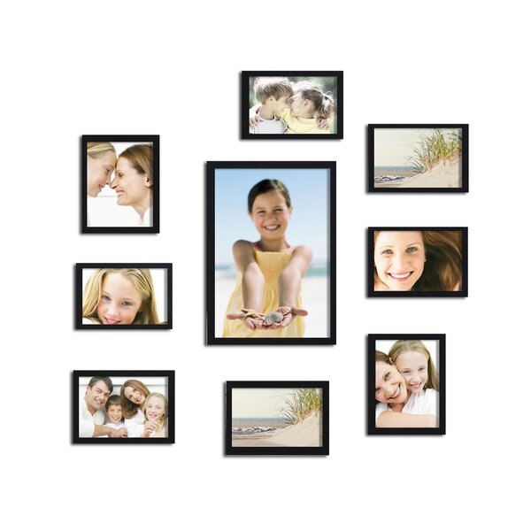 10 Piece Collage Picture Frame Set by Adeco Trading