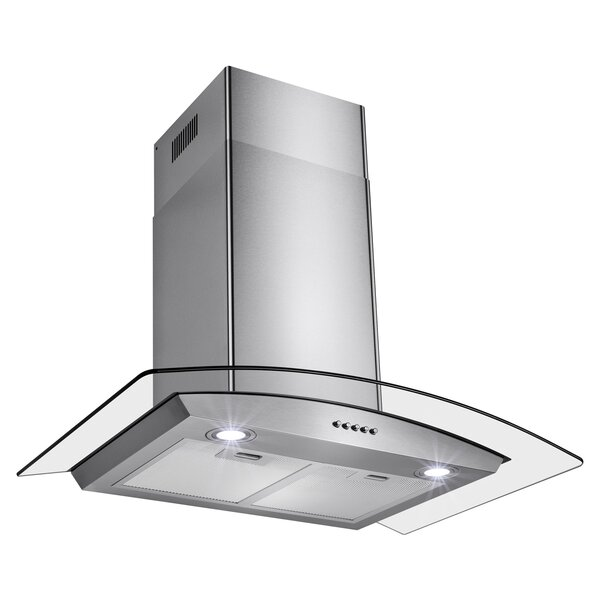 343 CFM Convertible Wall Mount Range Hood by AKDY