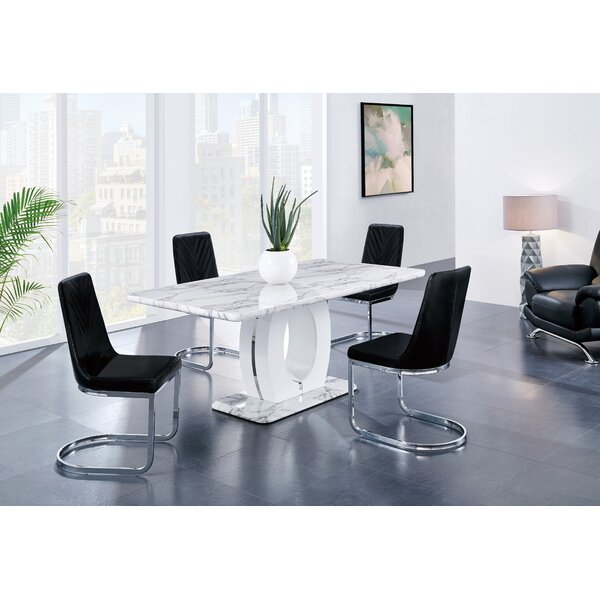 Kimbell 5 Piece Dining Set by Brayden Studio