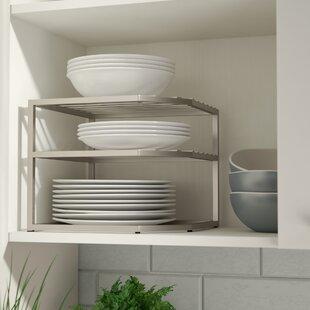 prevatte corner kitchen cabinet organizer rack - Corner Kitchen Cabinet