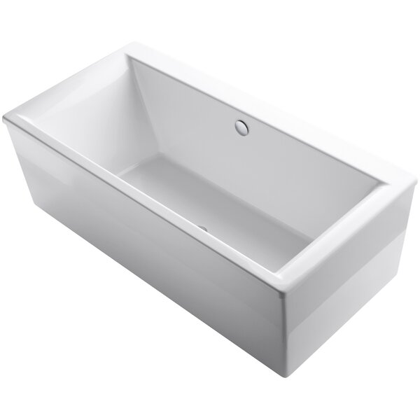Stargaze Freestanding 72 x 36 Soaking Bathtub by Kohler