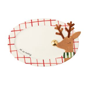 Christmas Reindeer Serving Platter