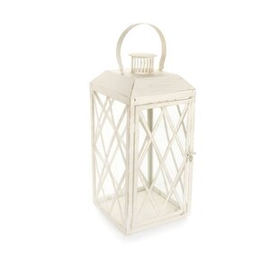Bargain Metal Lantern with Sturdy Ring and Vented Roof By Ophelia & Co.