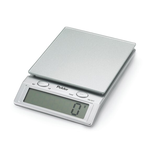 Digital Glass Top Kitchen Scale by Polder Products LLC