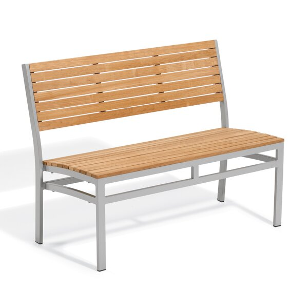 Farmington Teak Garden Bench by Latitude Run