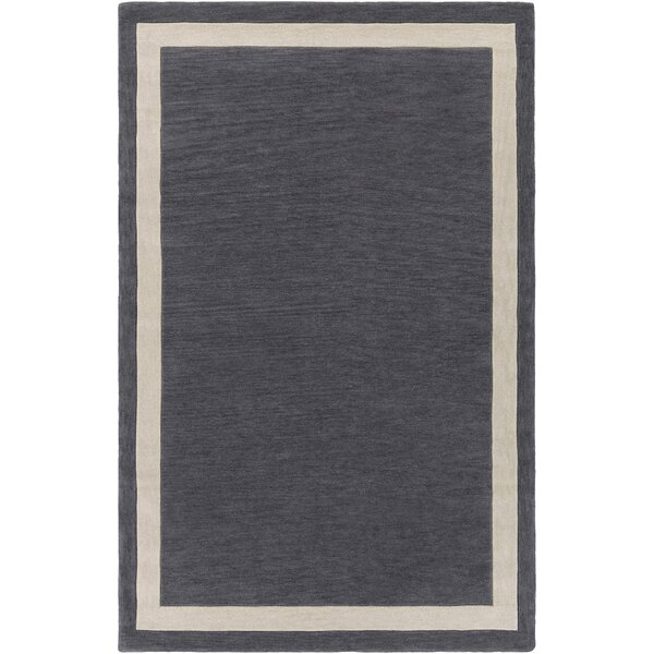 Cutrer Gray & Ivory Area Rug by Breakwater Bay