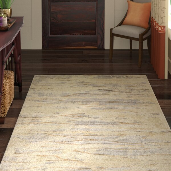 Essex Beige Area Rug by World Menagerie