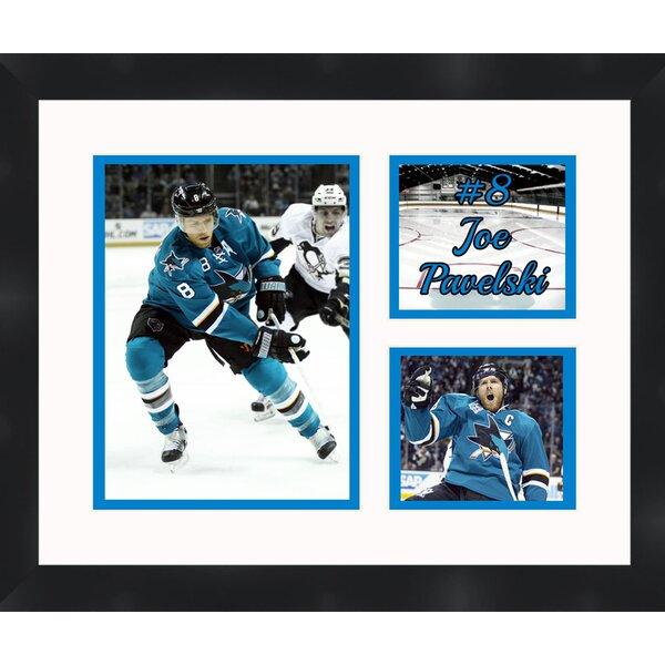 San Jose Sharks Joe Pavelski 8 Photo Collage Framed Photographic Print by Frames By Mail