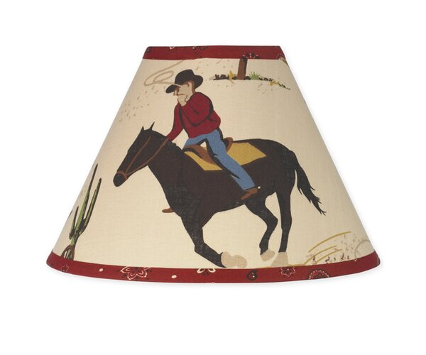 Wild West Cowboy 10 Cotton Empire Lamp Shade by Sweet Jojo Designs