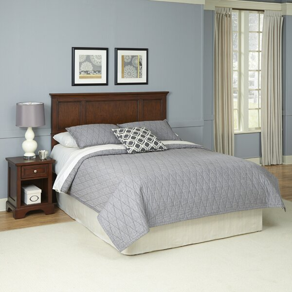 Borden Panel 2 Piece Bedroom Set by Three Posts