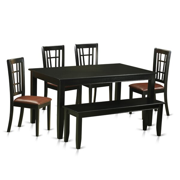 Araminta 6 Piece Dining Set by Alcott Hill Alcott Hill