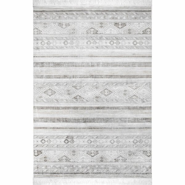 Singh Gray Area Rug by Union Rustic