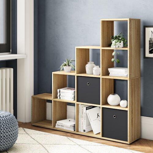 Bücherregal Esai ModernMoments Farbe: Beige | Wohnzimmer > Regale | ModernMoments