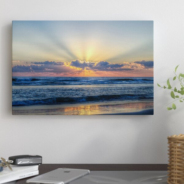 Radiant Dawn Photographic Print on Wrapped Canvas by East Urban Home