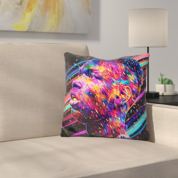 Pogba Throw Pillow by East Urban Home