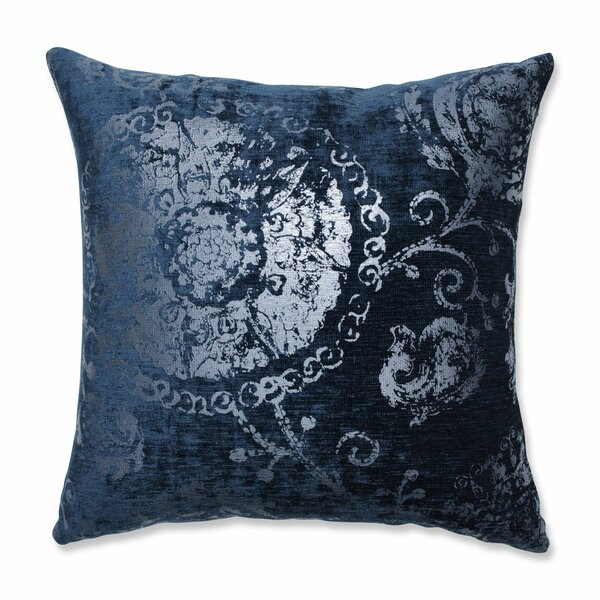 Espen Metallic Throw Pillow by Bungalow Rose