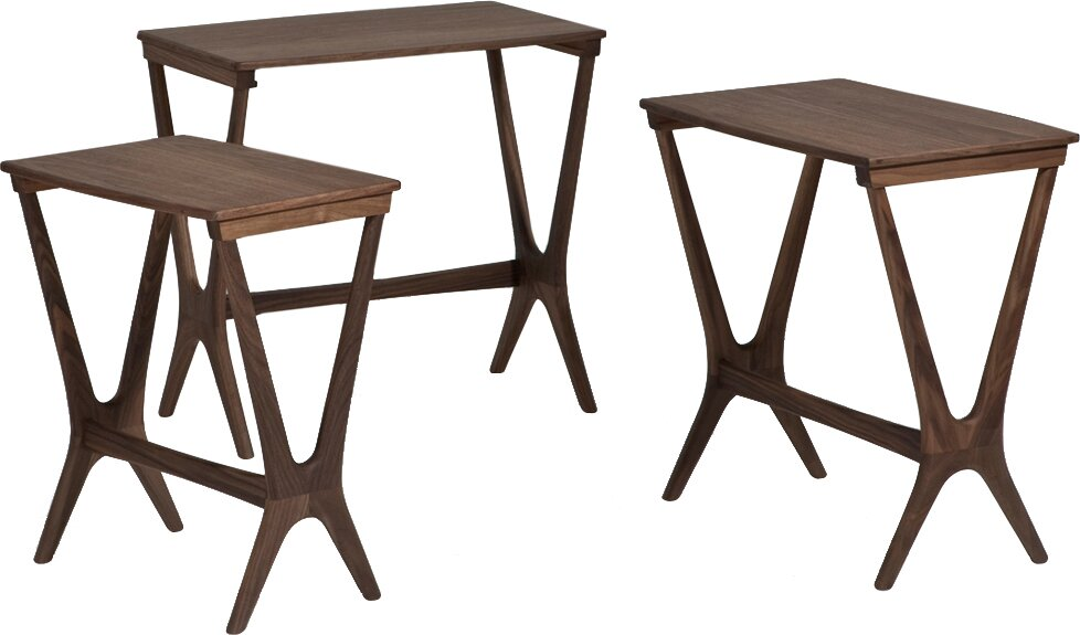 Amazing Laurel 3 Piece Nesting Table Set