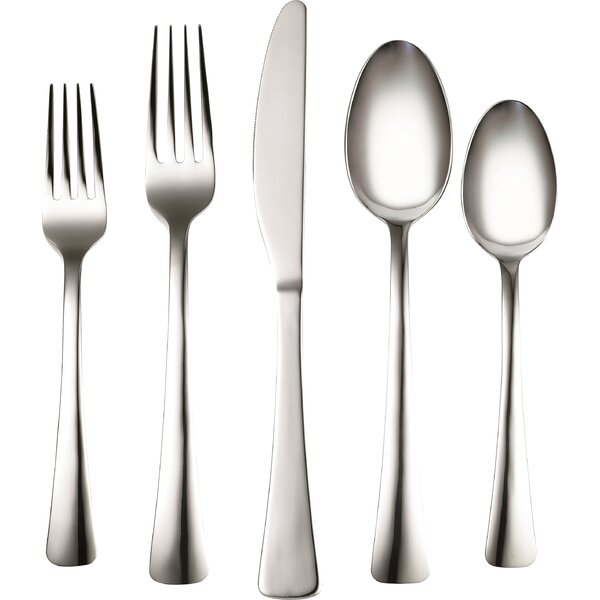 Coordinates Naomi 20 Piece Flatware Set by Corelle