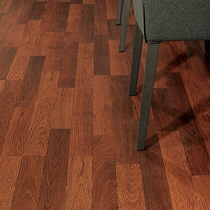 Eligna 6 x 54 x 8mm Cherry Laminate Flooring in Brazilian Cherry Double Plank by Quick-Step