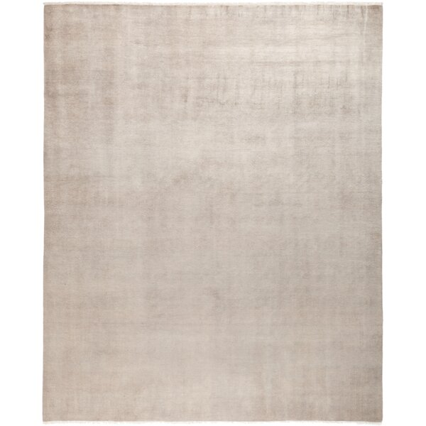 One-of-a-Kind Dunnyvadden Hand Knotted Wool Beige Area Rug by Brayden Studio