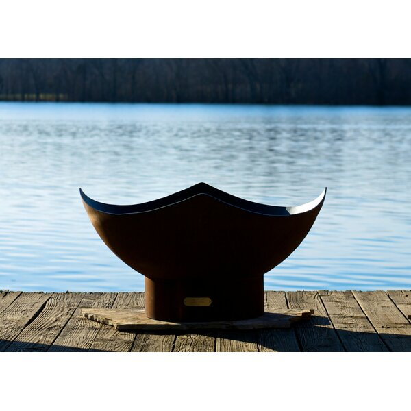 Manta Ray Fire Pit by Fire Pit Art