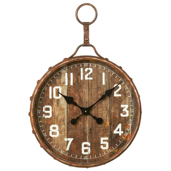 19.75 Wall Clock by Loon Peak