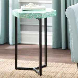 Dalvey End Table by Beachcrest Home