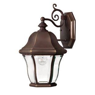 Online Reviews Monticello 1 Light Outdoor Wall Lantern By Hinkley Lighting