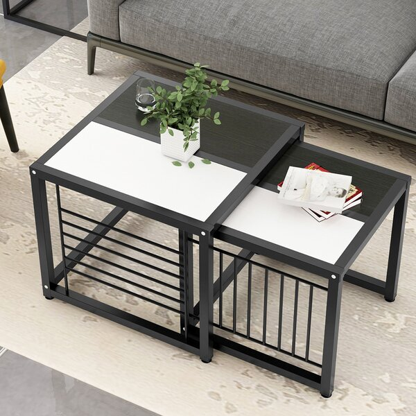 Bourbon 2 Piece Nesting Tables by Ivy Bronx