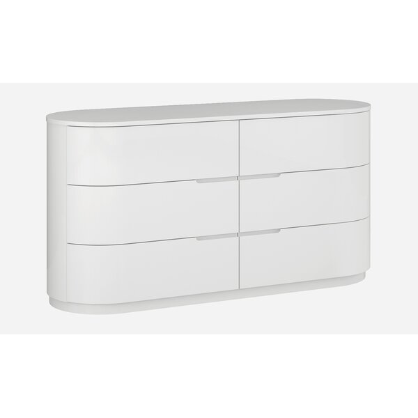 Janette 6 Drawer Standard Dresser by Orren Ellis