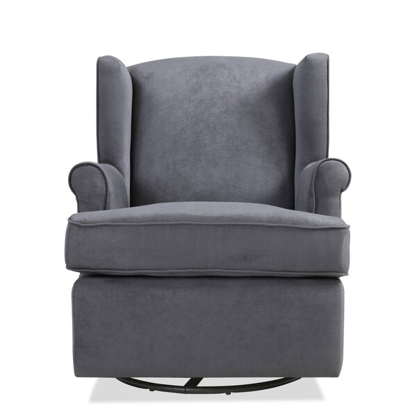 Tessa Glider Swivel Armchair by Red Barrel Studio