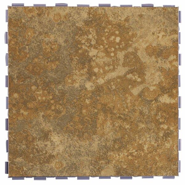 Classic Standard 12 x 12 Porcelain Field Tile in Camel by SnapStone
