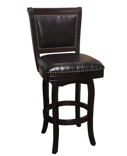 Brenden 29 Swivel Bar Stool by Charlton Home