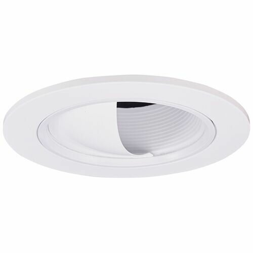 Adjustable Baffle Wall Wash 3 LED Recessed Trim by Elco Lighting