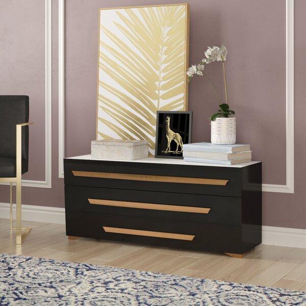 Ertha 3 Drawer Dresser by Willa Arlo Interiors