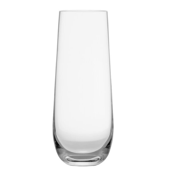 Forte Glass 8 oz. Stemless Champagne Flute (Set of 6) by Schott Zwiesel