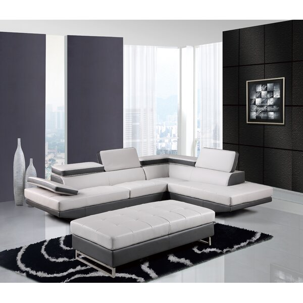 #1 Natalie Sectional By Global Furniture USA Sale