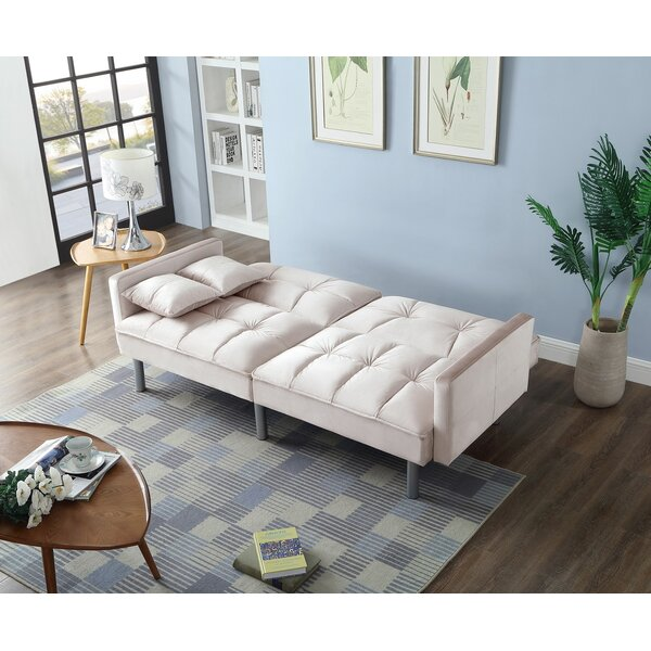 #1 Silvester Sofa Bed By Ebern Designs Herry Up