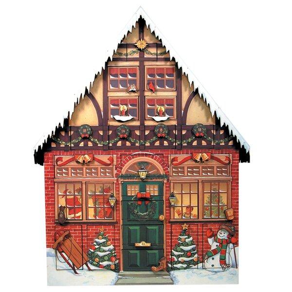 Christmas House Advent Calendar by Byers' Choice