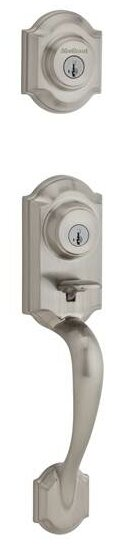 Montara Signature Series Double Cylinder Handleset with Trim and Smartkey®, Exterior Handle Only by Kwikset