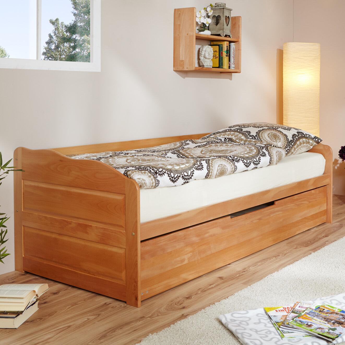 ticaa ausziehbett marlo bewertungen wayfairde - Modernes Tagesbett Mit Ausziehbett