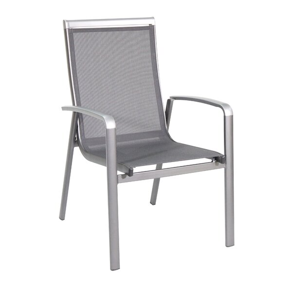 Brisy Folding Patio Dining Chair (Set of 4) by Royal Garden