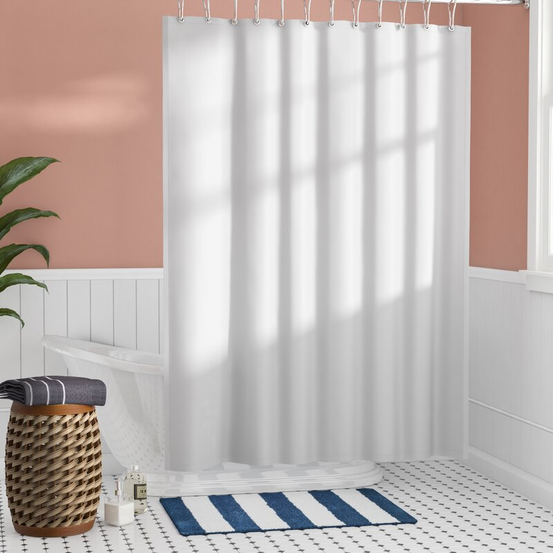 Santalaris Polyester Shower Curtain Liner By Beachcrest Home