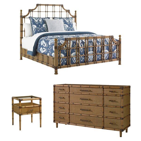 Twin Palms Standard Configurable Bedroom Set by Tommy Bahama Home