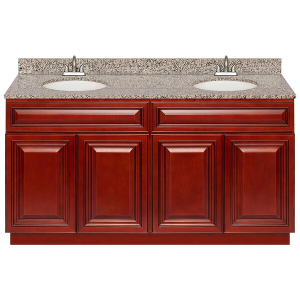 Lewes 60 Double Bathroom Vanity Set by Charlton Home