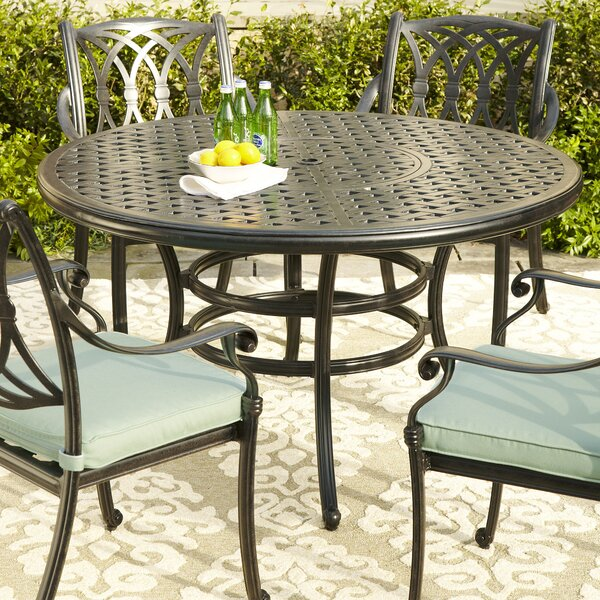 Carrington Round Dining Table by Birch Lane™
