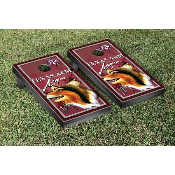NCAA Texas A&M University Aggies Guy Harvey Cornhole Game Set by Victory Tailgate